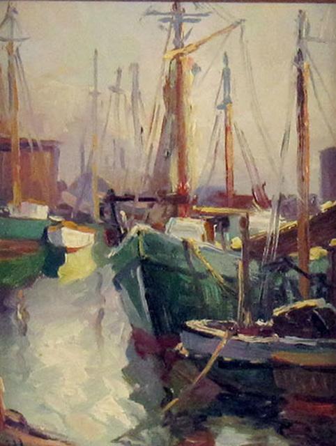 Robert Litton, 'Harbor Slip', ca. 1995, Janus Galleries