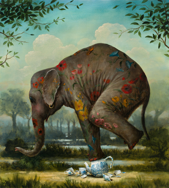 Kevin Sloan, 'Our Gentle Giant ', 2018, k contemporary