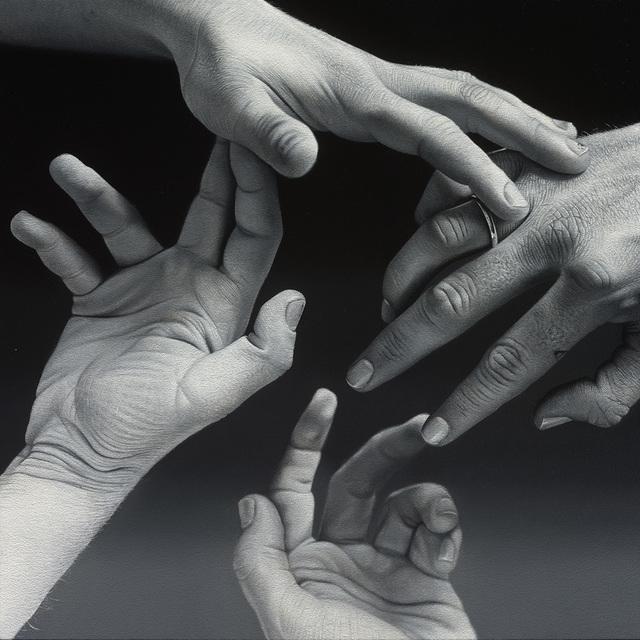 , 'Hands #6 (Jeff & Simone),' 2016, Nicholas Metivier Gallery