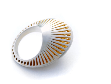 , 'Phase Oval Ring ,' , Pangolin