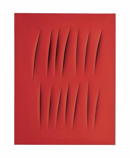 Lucio Fontana, 'Concetto spaziale, Attese', 1965, Christie's