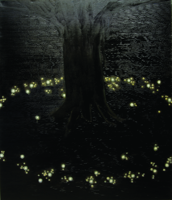 ", '""Untitled"" Painting from Cosmic Night's Out CN-2,' 2005, Zhou B Art Center"