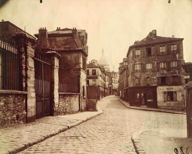 , 'Montmartre, (Rue Norvins),' ca. 1905, Pérez Art Museum Miami (PAMM)