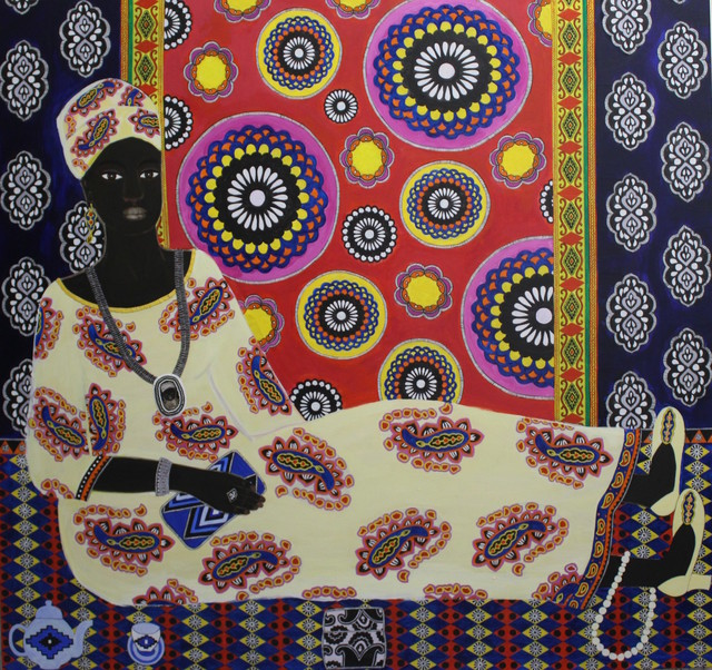 , 'Mimi,' 2017, Rebecca Hossack Art Gallery