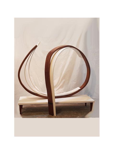 Natalia Abot Glenz, 'Dibujo de madera', 2019, Sculpture, Assembled wood and painted mdf - wooden base, Jorge Mara - La Ruche
