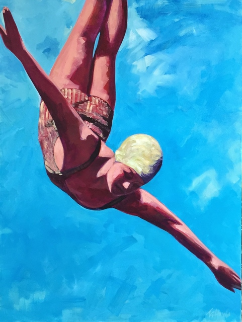 , 'Soaring (Diver),' 2014, Quidley & Company