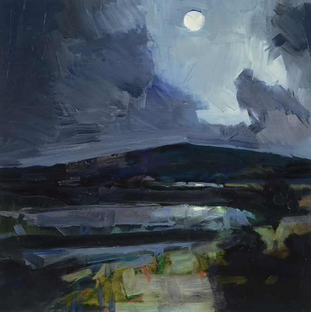 , 'Bodmin Moor at Night,' , Wallace Galleries