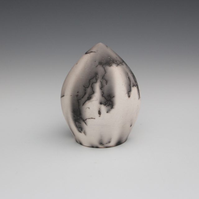Danucha Brikshavana, 'Horse Hair Raku Egg', 2019, Springfield Art Association