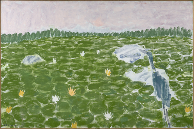 , 'Lily Pond, Blue Heron,' , Berry Campbell Gallery