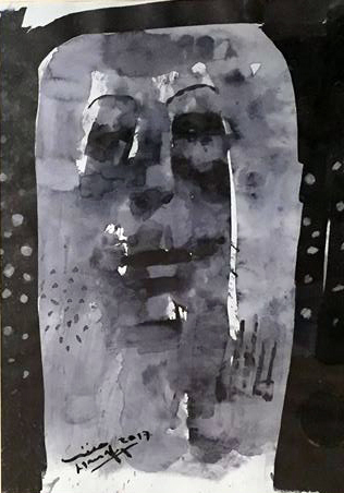 , 'Faces,' 2017, Easel & Camera Contemporary Art Gallery