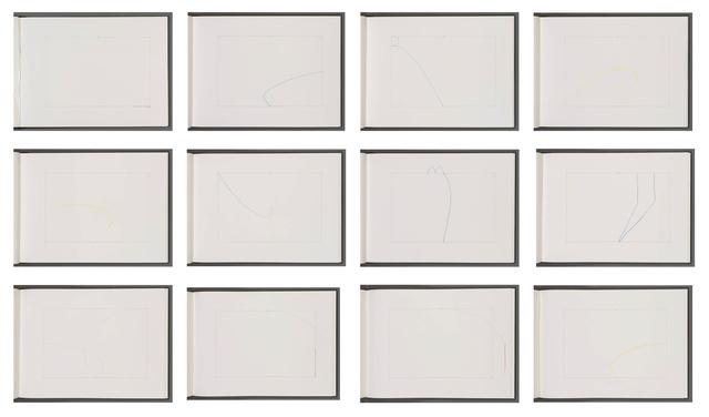 Richard Tuttle, 'Interlude (Kinesthetic Drawings)', 1974, Carolina Nitsch Contemporary Art
