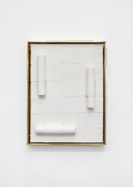 Claire Baily, 'Settling, Slowly', 2019, Sculpture, Jesmonite, pigment and brass, CASTOR