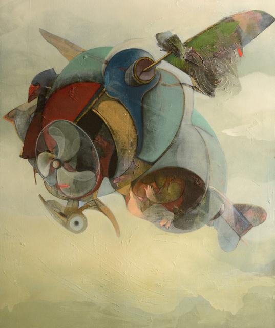 , 'My Plane,' 2014, Hafez Gallery