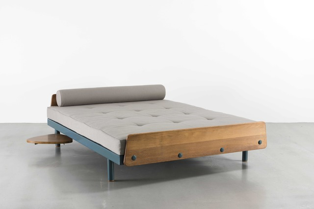 Jean Prouvé, 'SCAL no. 458 bed with a swivelling tablet', 1957, Galerie Patrick Seguin