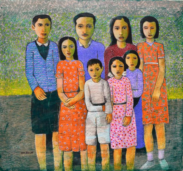 , 'Ayyoub Family,' 2014, Zawyeh Gallery