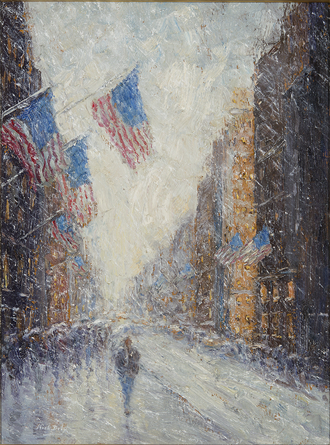 , 'Snowy Flags Impressions,' 2016, Rehs Contemporary Galleries