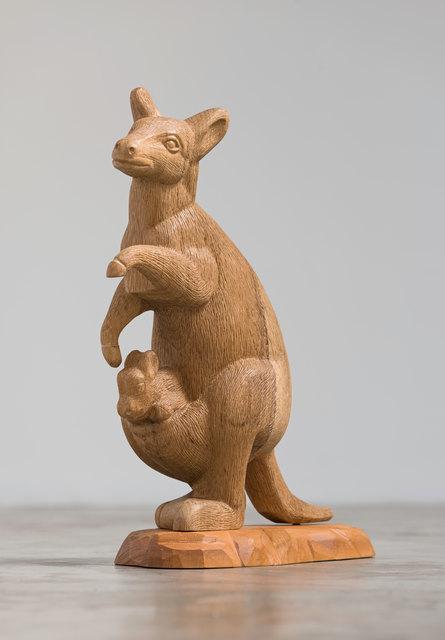 , 'Animais Lentos (Canguru) [Slow Animals  (Kangaroo)],' 2014, Casa Triângulo