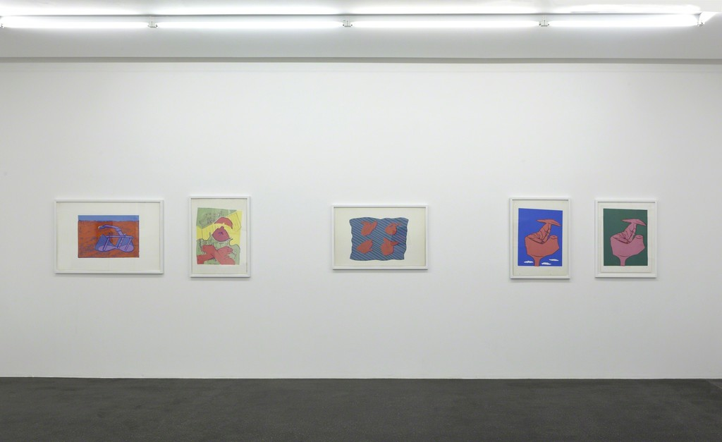Installation view, Barbara Gross Galerie, 2017