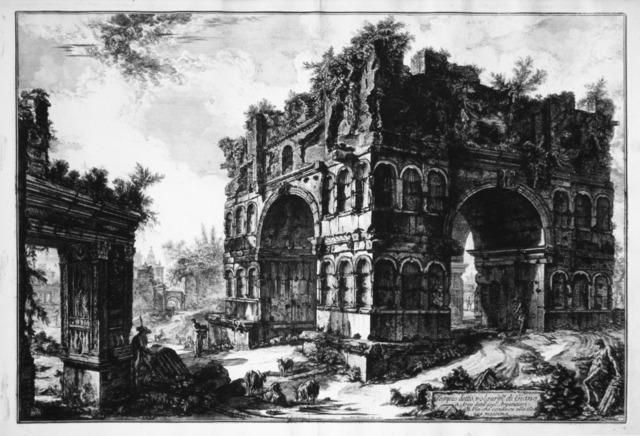 , 'Tempio detto volgarmente di Giano,' 1771, R. S. Johnson Fine Art
