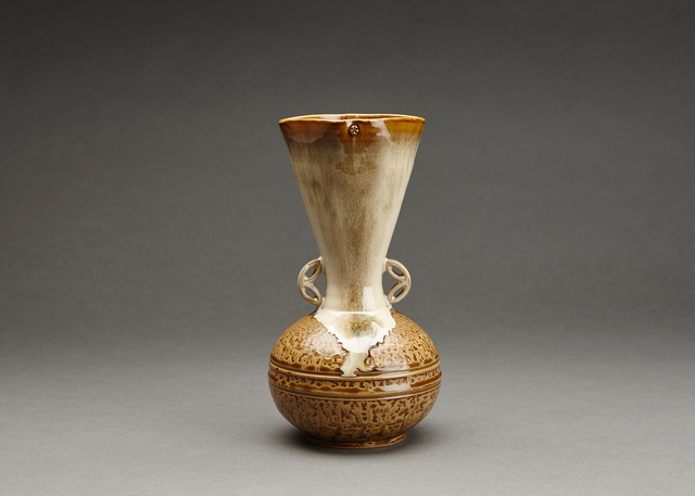 , 'Flower vase (hanaire), turnip form (shimo kabura), and shippo design handles,' , Pucker Gallery