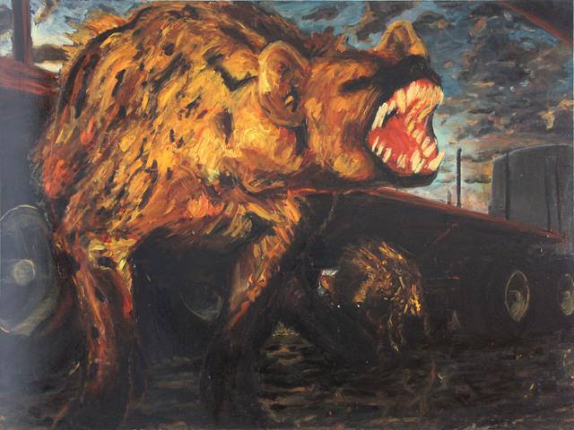 , 'Sin titulo (hienas),' 2008, Galería Quetzalli