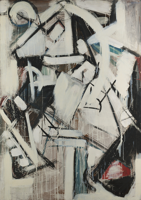 , 'Male Study,' 1954, Berry Campbell Gallery
