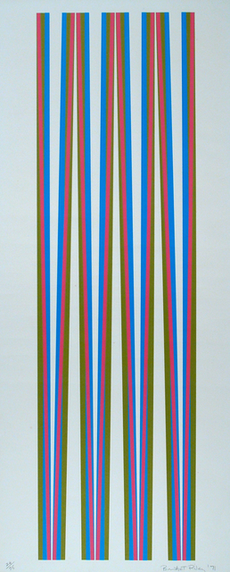 , 'Untitled (Elongated Triangles #5),' 1971, Setareh Gallery
