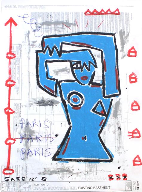 , 'Blue Phase,' 2018, Artspace Warehouse