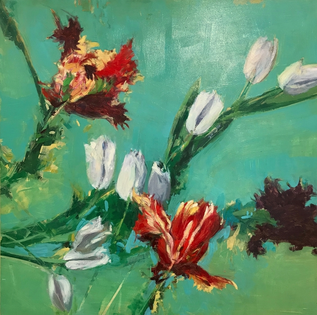 , 'Tulips Two,' 2014, Clyde Hogan Fine Art