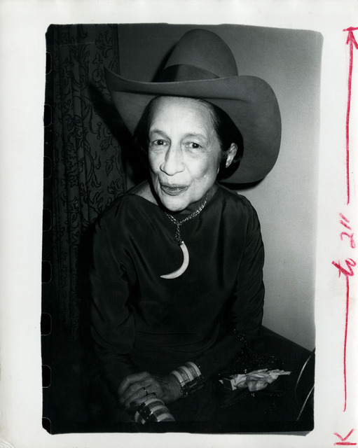 , 'Diana Vreeland,' ca. 1977, Hedges Projects