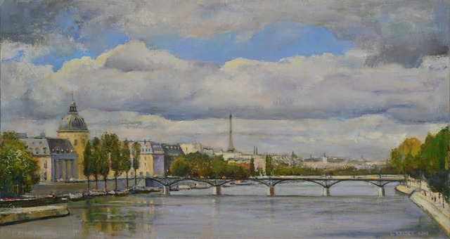 , 'Paris Sky,' 2014, Madelyn Jordon Fine Art