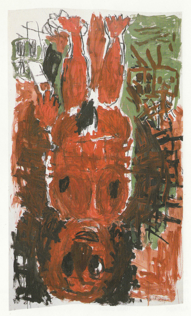 , 'Untitled, 25.IV.87,' 1987, Anthony Meier Fine Arts