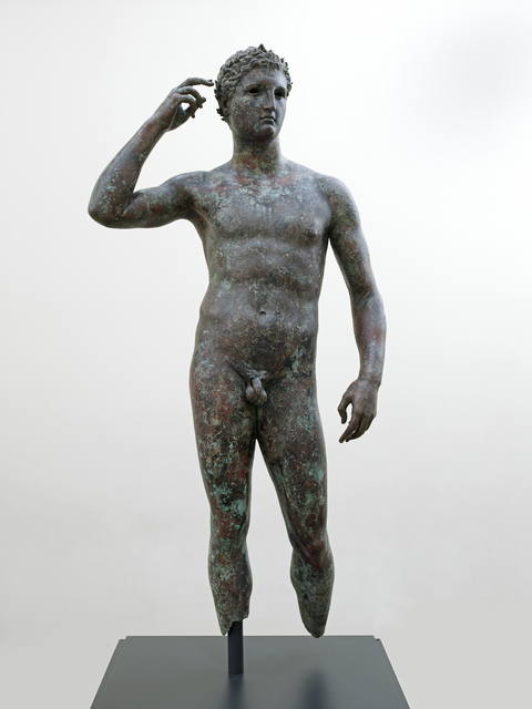 'Statue of a Victorious Youth', 300 -100 BCE, J. Paul Getty Museum