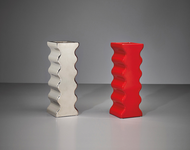Ettore Sottsass, 'Two vases, model no. 629, from the 'Onde' series', ca. 1969, Phillips