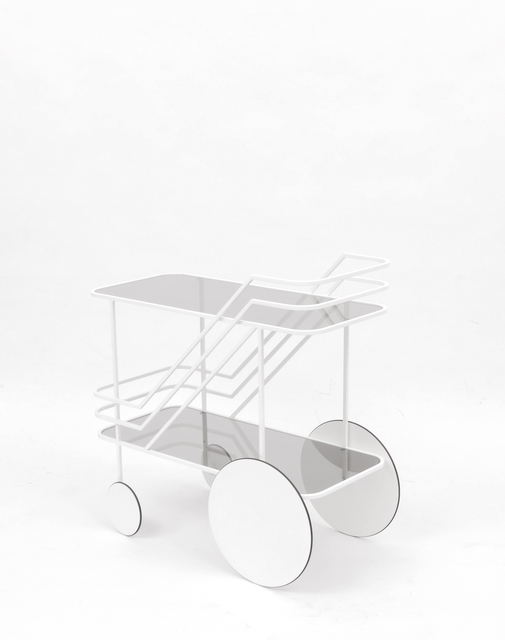 , 'COME AS YOU ARE Glass and steel food trolley,' 2013, Brand New World Salon