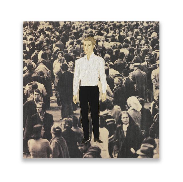 , 'Männerrelief mit weißem Hemd und schwarzer Hose (Relief man with white shirt and black trousers) ,' 2015, Moscow Museum of Modern Art