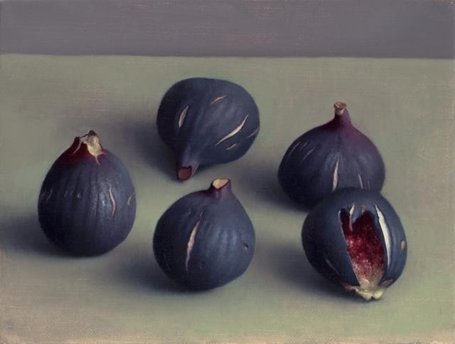 , 'Five Dark Figs,' 2015, Clark Gallery