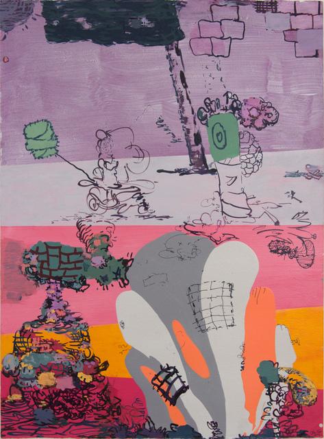 , 'Tailspin à la Mode,' 2015, Pierogi