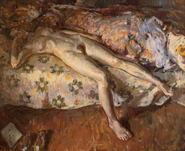 , 'Floral Sheets,' 2016, Grenning Gallery