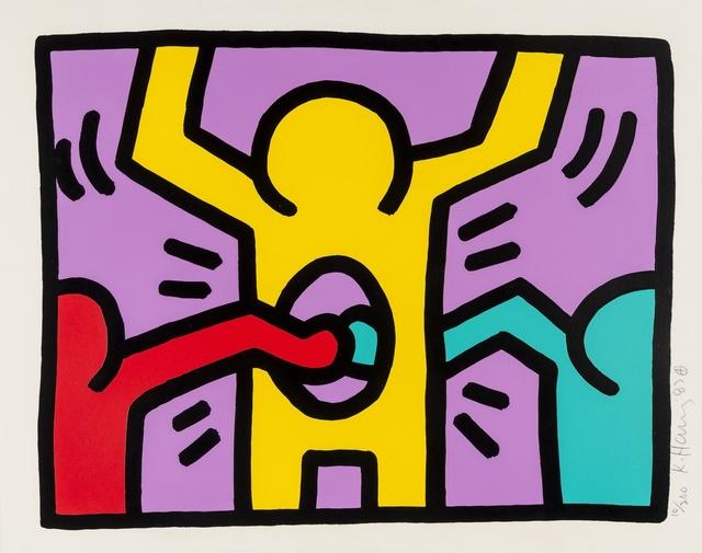 Keith Haring, 'Pop Shop I (see Littmann p.83)', 1987, Forum Auctions