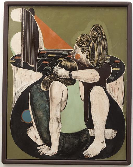 , 'o.T. (augen zu),' 2016, galerie burster