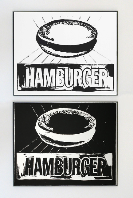 , 'Hamburger Positive and Negative Diptych,' 1985-1986, Joseph K. Levene Fine Art, Ltd.