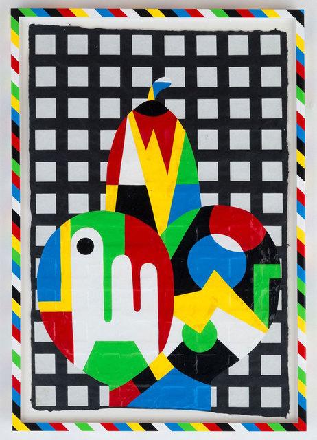 , 'TBT (Baw grid),' 2014, Casa Triângulo