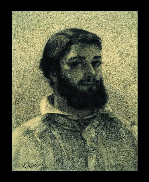 , 'Self Portrait,' 1852, British Museum