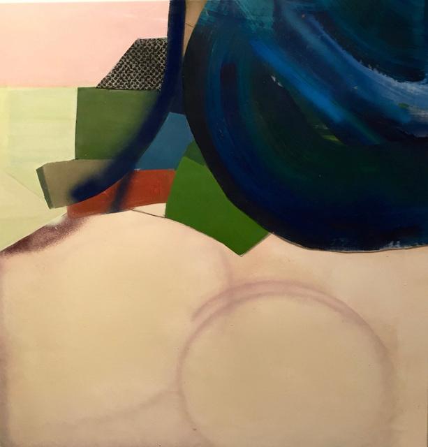 , 'Blue Construct,' 2016, David Richard Gallery