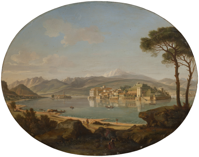 , 'A View of Lago Maggiore with the Isole Borromee,' ca. 1700, Robilant + Voena