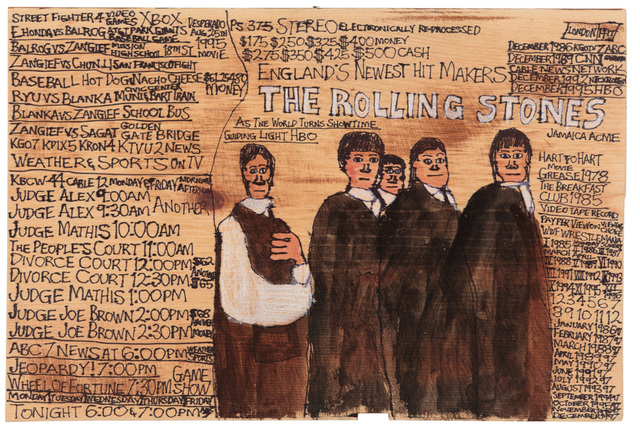 , 'The Rolling Stones,' 2012, Creativity Explored