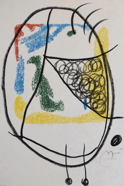 Joan Miró, 'Composition IX, from: The Essences of the Earth | Les Essencies de la Terra', 1968, Gilden's Art Gallery