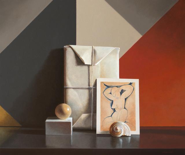 Guy Diehl, 'Still Life with Modigliani #13', 2018, Dolby Chadwick Gallery