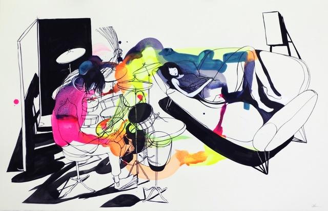 , 'She will sleep through anything ,' 2017, Die Kunstagentin